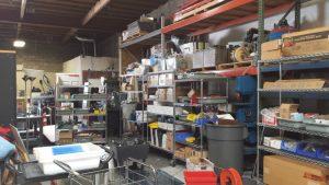 почистване на склад